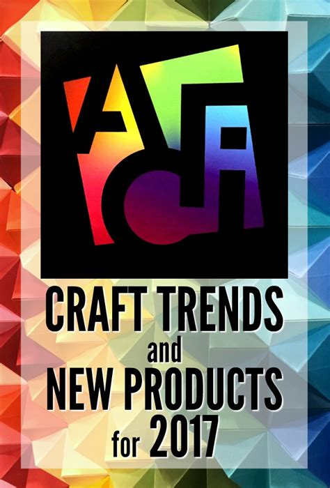 Craft Trend And New Products For 2017  Mad In Crafts