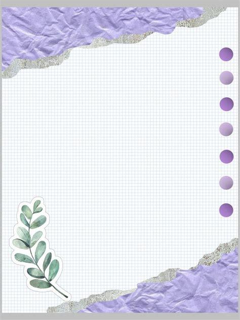 Todos tenemos en casa una hoja de después de muchos trabajos dedicados a la decoración y como máxima inspiración las flores. Plantilla apunte digital | Marcos del cuaderno de notas ...