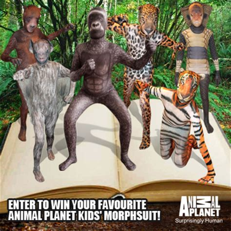 win  childrens animal morphsuit giveaway  closed