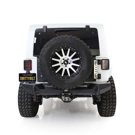 smittybilt  xrc tailgate  tire carrier