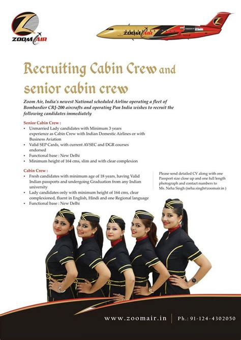 Air Cabin Crew Recruitment Zoom Air Cabin Crew Recruitment Ifly Global