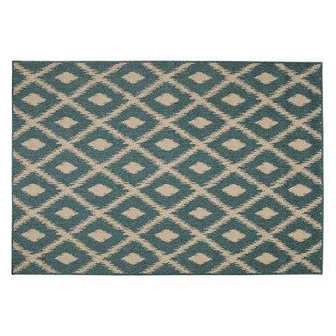 ambiance chambre bébé tapis d 39 extérieur en polypropylène vert 160 x 230 cm