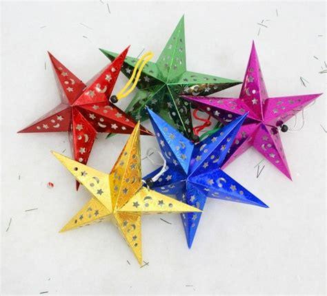 sterne basteln mit kindern 123 ideen weihnachtssterne basteln archzine net