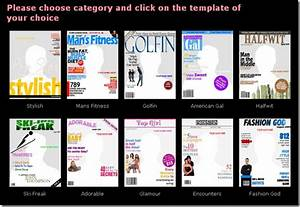 free custom magazine covers With custom magazine cover templates