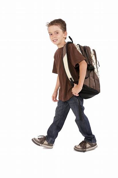Boy Backpack Transparent Backpacks Background Clipart Swimming