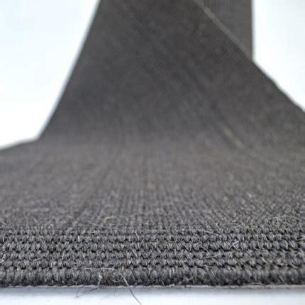 tapis de passage au metre tapis de passage en sisal couloir et escalier anthracite larg 67cm sisal acheter en