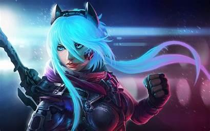 Anime Realistic Hair Sci Fi Digital Fantasy