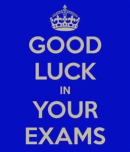 Sri Lankan School Muscat : Good Luck in Exams!!