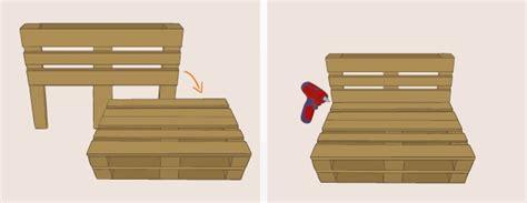 canapé avec des palettes fabriquer un canapé en palette canapé