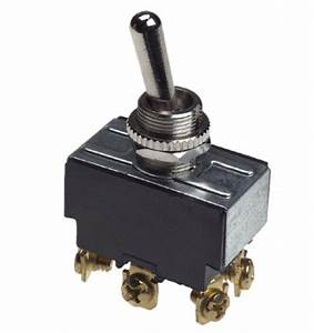 Gardner Bender Heavy Duty Toggle Switch 20a Double Pole