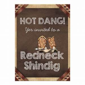 79 redneck party invitations redneck party announcements With funny redneck wedding invitations