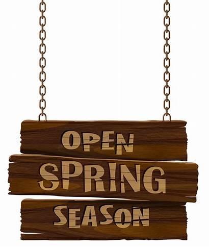 Spring Open Season Transparent Clip Clipart Yopriceville