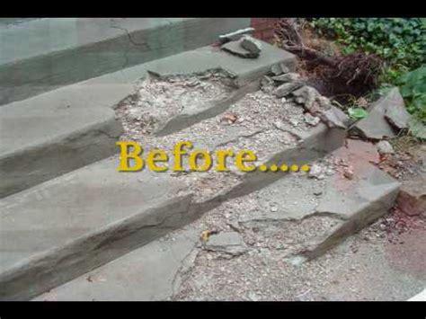 columbus ohio concrete step  stair repair recommend