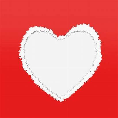 Clipart Heart Paper Torn Pngtree