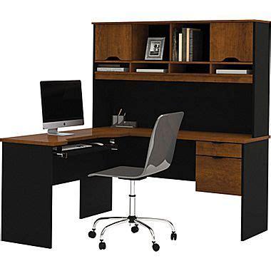 bestar innova corner computer desk tuscany brown black