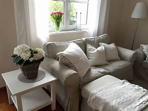 Wohnzimmer Landhausstil Ikea : unser ikea ektorp wohnzimmer interior design furniture living room ~ Watch28wear.com Haus und Dekorationen