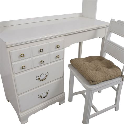 white desk with hutch and drawers 67 lea lea white wood three drawer desk with hutch