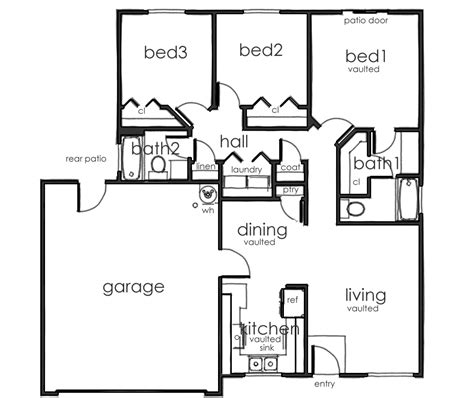 bathroom floor plans with washer and dryer a great layout pine valley townhomes