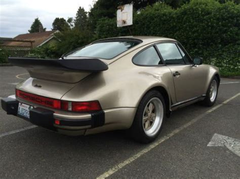 porsche 930 modified sell used 1982 porsche 930 turbo tastfully modified in