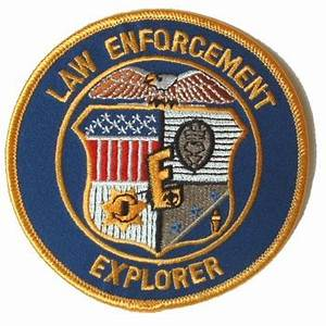 Law Enforcement Explorer Patch - NYFirePolice.com