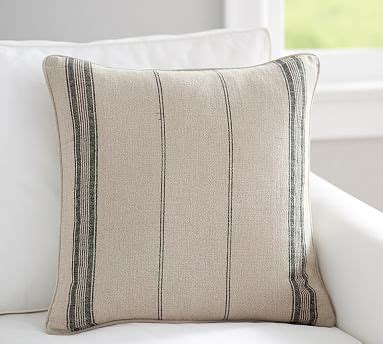 discontinued pottery barn pillow covers diego stripe pillow cover pottery barn