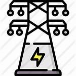 Tower Electric Icon Premium Icons Lineal