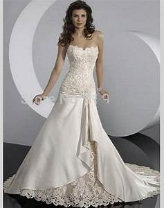 2015 lace a line sweetheart stain wedding dresses china With elegant dresses for wedding
