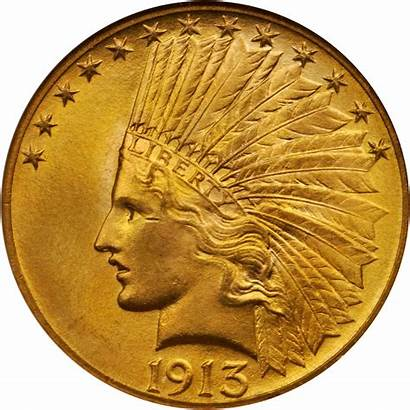 Gold Indian 1913 Value Head Coins Sold