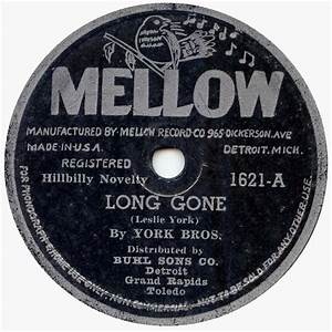 The York Brothers - Long Time Gone: The King & Deluxe ...