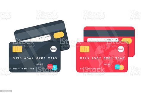 Maybe you would like to learn more about one of these? Credit Cards Illustrations Front And Back Views Stock Illustration - Download Image Now - iStock