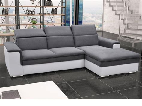 canape d angle avec relax canap 233 d angle convertible avec t 234 ti 232 res 3 coloris connor