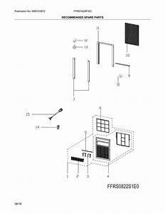 Frigidaire Ffrs1022r1e0 Room Air Conditioner Parts