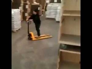 Forklift Safety  Even On The Humble Pallet Jack