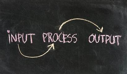 Input Output Management Process There Stages Maker