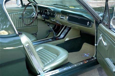 1967 Mustang Interior Colors?