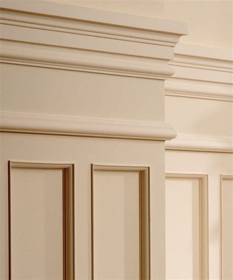 How To Hang Wainscoting Panels by Classic I Panel Molding Installed Molding In 2019