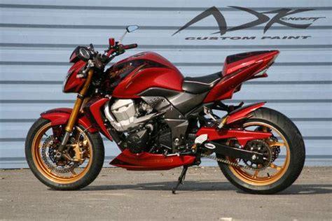 Modification Z750 by Kawasaki Z750 Redluxe By Ad Koncept