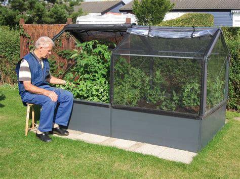 potager de jardin sur 233 lev 233 de 50cm avec serre 240x120x1