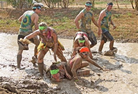 Thousands Get Down And Dirty In Muddy Dirty Dash Local
