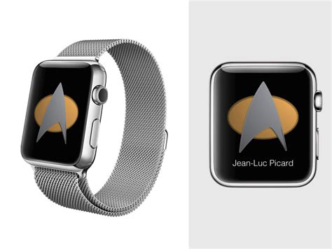 apple  app concept star trek tng communicator