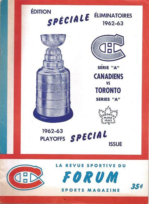 nhl program montreal canadiens   sportspaperinfo