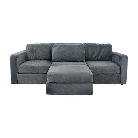 Used Lovesac Sactional by 77 Lovesac Lovesac Grey Center Chaise Sectional Sofas