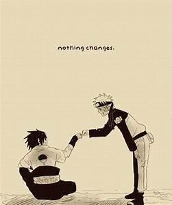 Sasuke & Naruto. Best friends.   Whiskered Ramen Lover ...