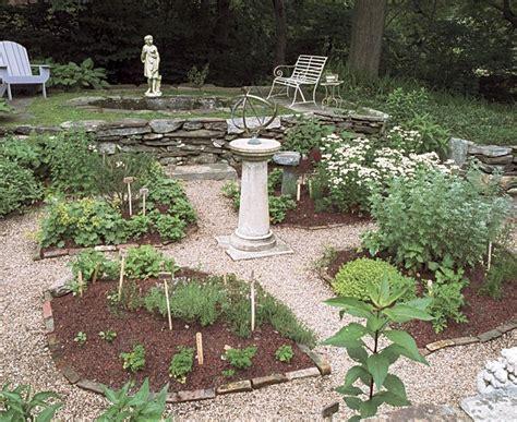 medicinal herb garden design photograph found on finegarde