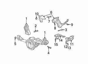 Dodge Ram 1500 Bolt  Mount  Bracket  Transmission