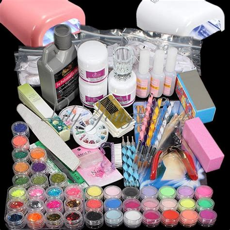 kit le timing glitter poudre acrylique gel uv ongles d 233 cor manucure nail ebay