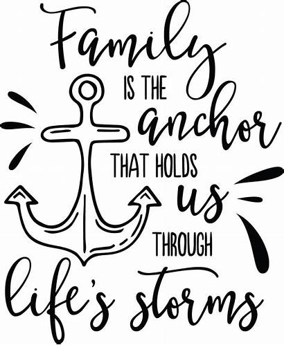 Quotes Sayings Anchor Svg Faith Clipart Holds