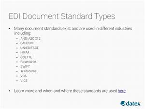 what is edi and how does it work With edi x12 standard documentation