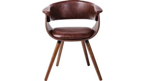chaise simili cuir marron chaise bois et simili cuir maison design modanes com
