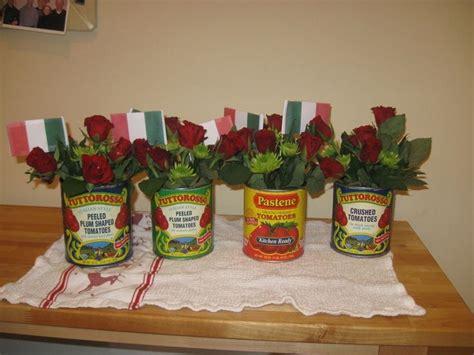 spaghetti dinner decoration ideas italian themed
